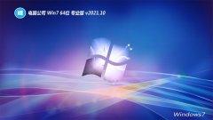 电脑公司win7免激活64位王牌内部版v2021.10